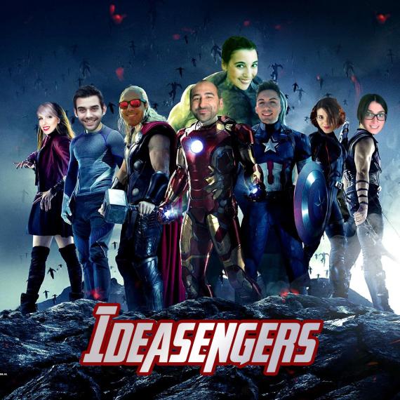 Los Ideasengers contra Thanos: la lucha por un universo creativo